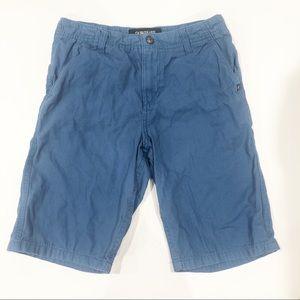 Quicksilver blue shorts size 28